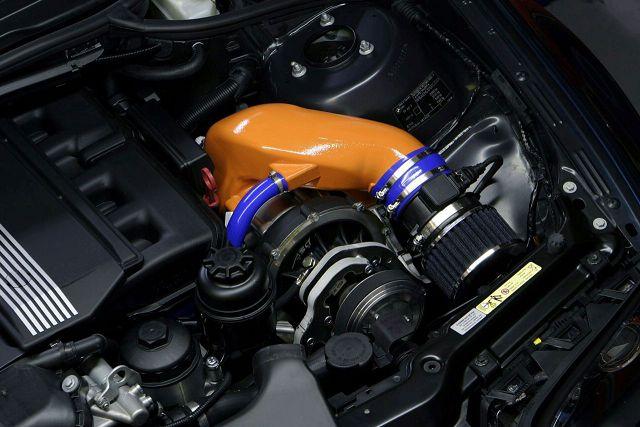 Двигатель с турбонадувом