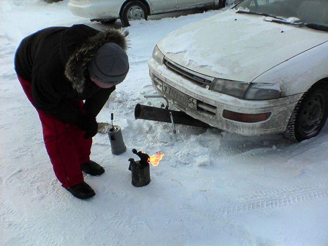 Подогрев двигателя в морозы