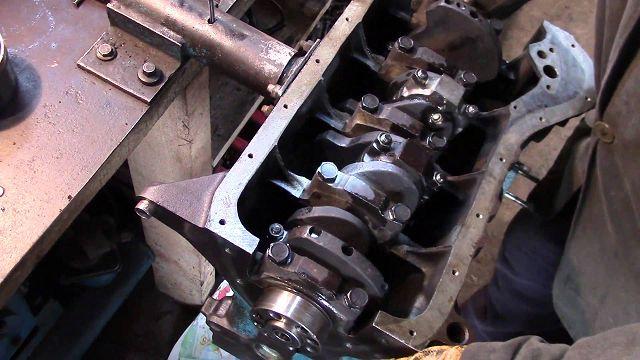 Коленчатый вал двигателя
