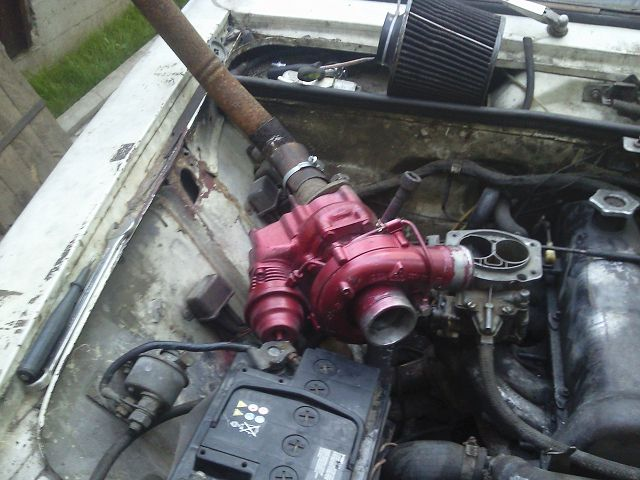 Турбина на карбюраторный двигатель своими руками