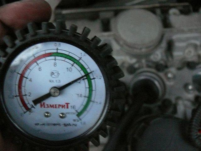 Замер компрессии дизеля