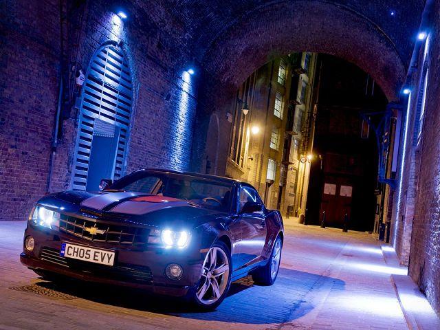 Ночной город и машина