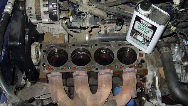 Раскоксовка двигателя