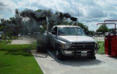 Черный дым дизеля