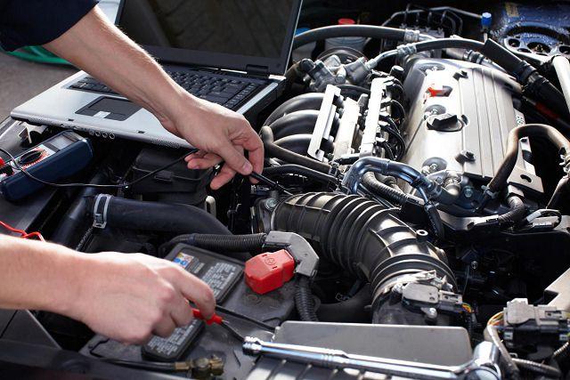 Поиск неисправности двигателя