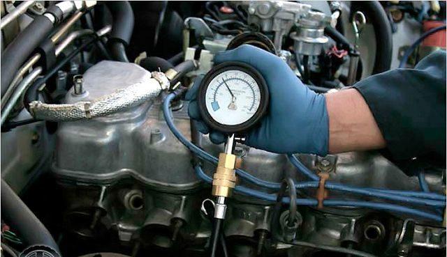 Проверка компрессии дизеля