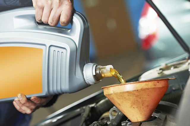 Замена масла в дизеле
