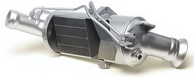 Прочистка сажевого фильтра дизельного двигателя