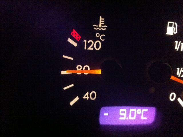 Рабочая температура двигателя