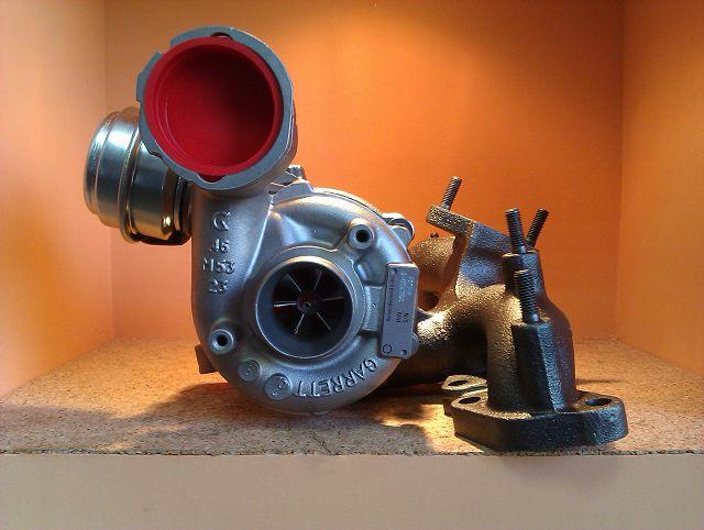 Турбина на двигателе
