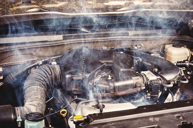 Двигатель закипел