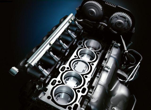 Чистые поршни мотора