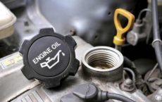 Замена масла автомобиля