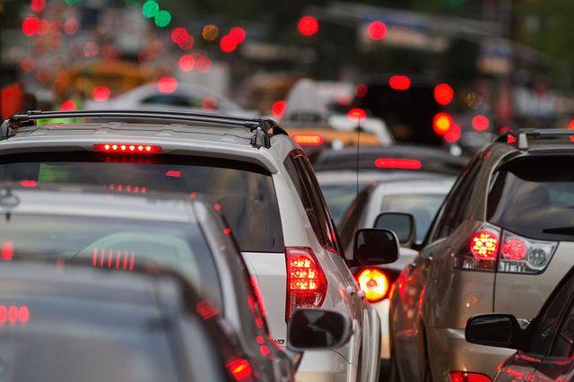 Автомобильные пробки в городах