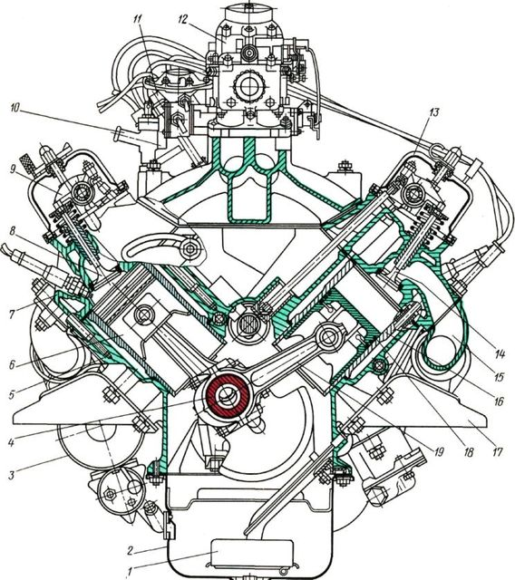 Каталог двигателя ММЗ Зубрёнок (ЕВРО-2) Д-24530