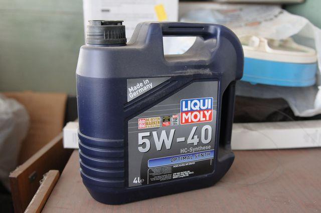 Масло Liqui Moly 5W-40