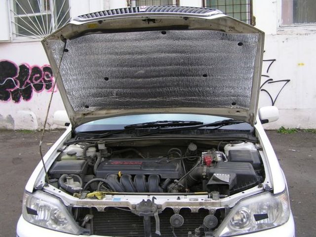 Утепление двигателя зимой