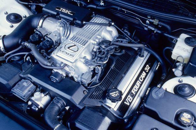 Двигатель 1UZ FE