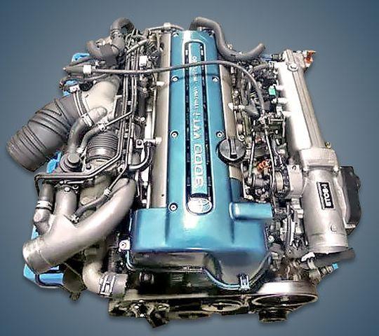 Внешний вид мотора 2JZ