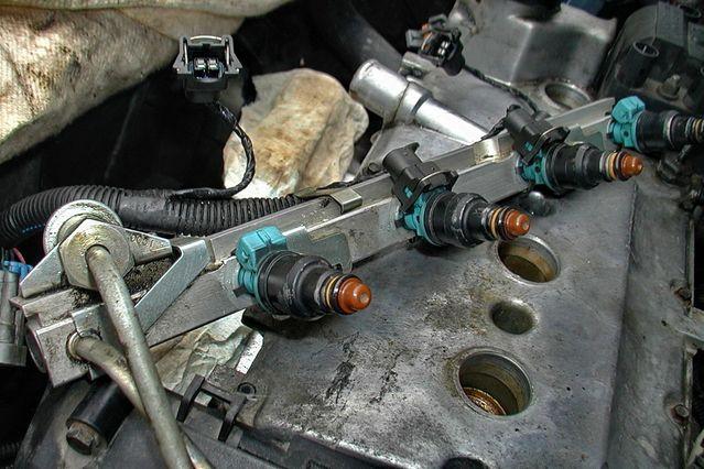 Инжекторный двигатель ваз 2107