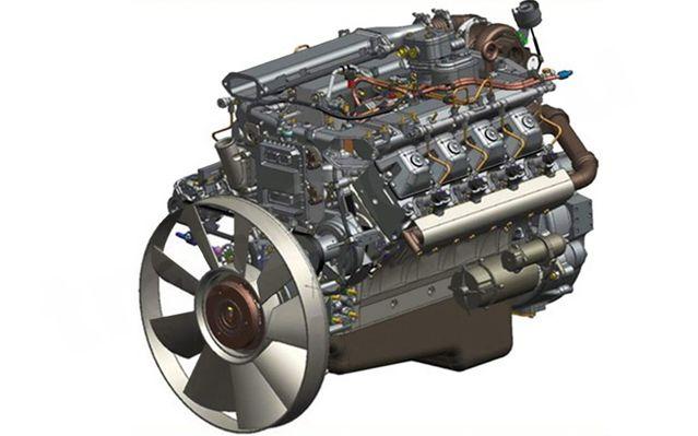 Двигатель КамАЗ-740.70