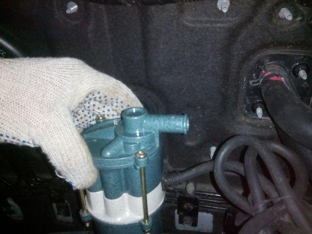 Предпусковой обогреватель двигателя с помпой