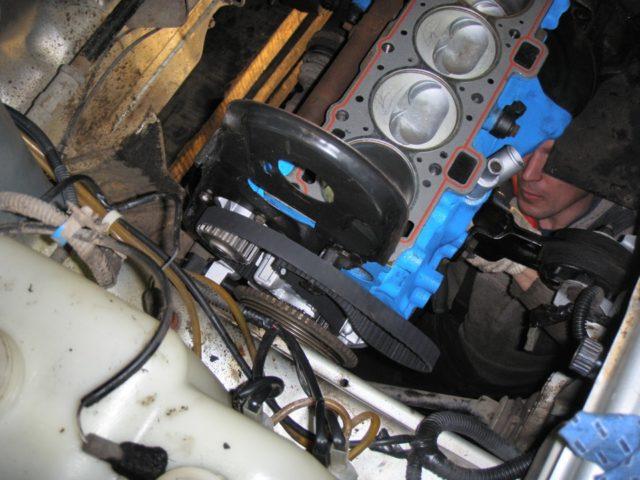 Ремонт мотора 2114