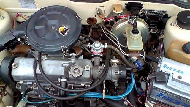 Карбюраторный мотор ВАЗ 2109
