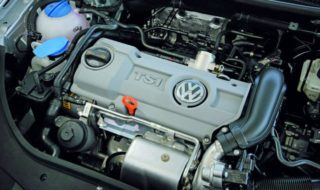 Двигатель TSi с объёмом 1.4 литра