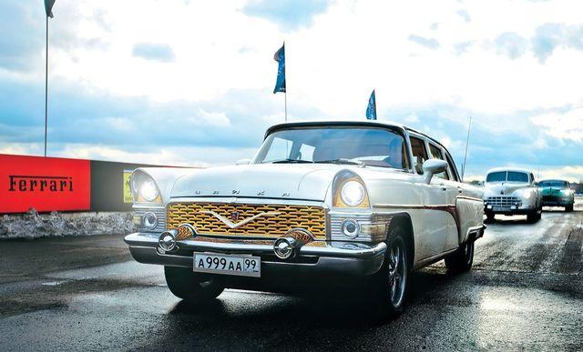 Автопробег ГАЗ 21