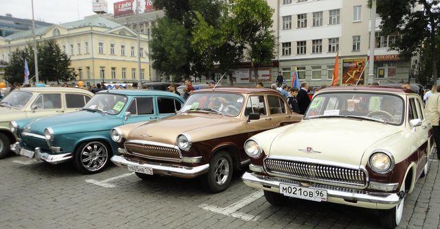 Выставка ретро авто