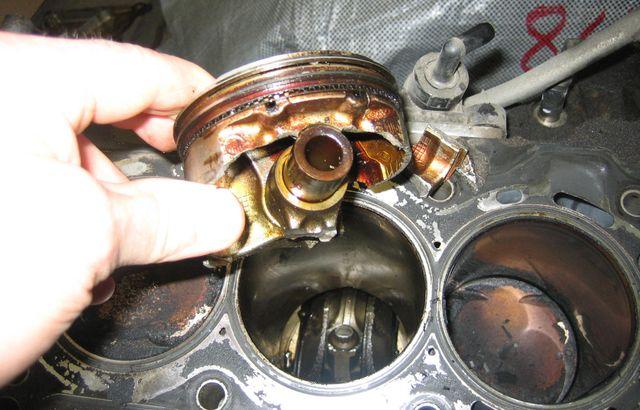 Последствия гидроудара двигателя