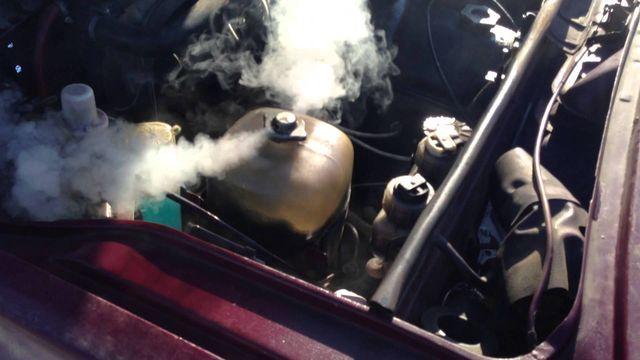 Закипел двигатель