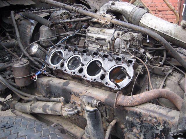 Ремонт двигателя МАЗа
