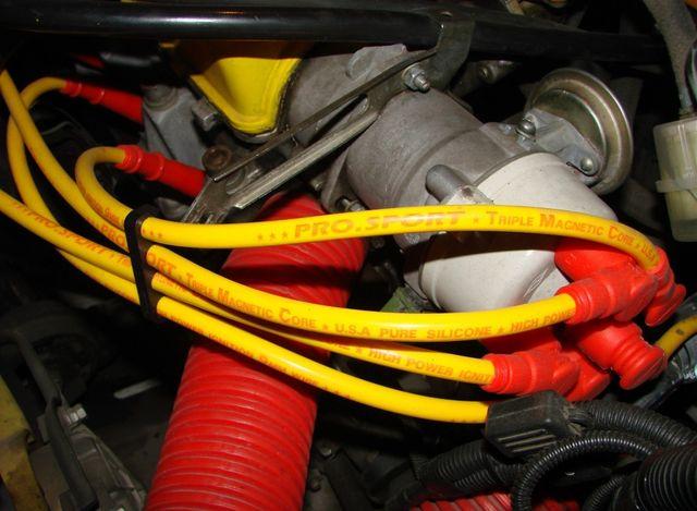 Высоковольтные провода для инжектора