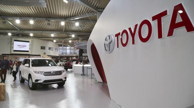 Автосалон Тойота