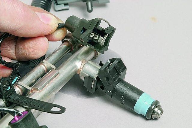 Проверка форсунок инжектора