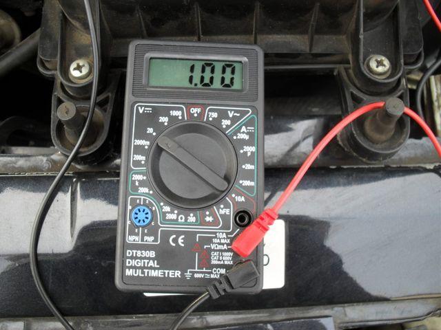 Проверка мультимометром двигатель
