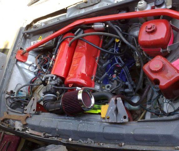 Как сделать инжекторный двигатель