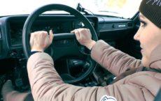 За рулем ВАЗ 2107