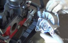 Помпа двигателя