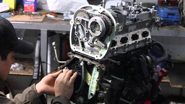 Ремонт двигателя «Volkswagen»