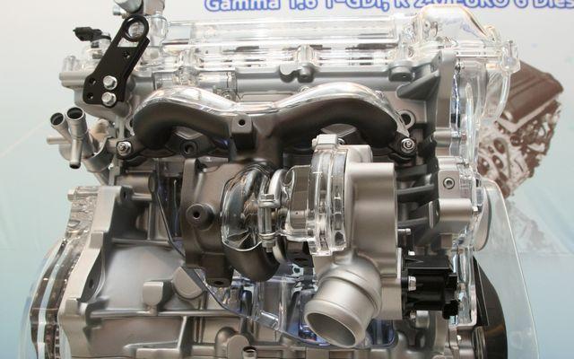 Двигатель Hyundai Gamma