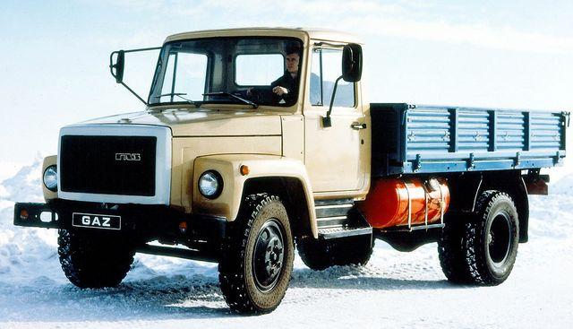 ГАЗ 3307 борт