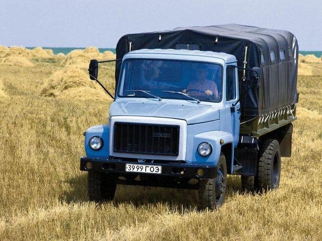 ГАЗ 3307 тент