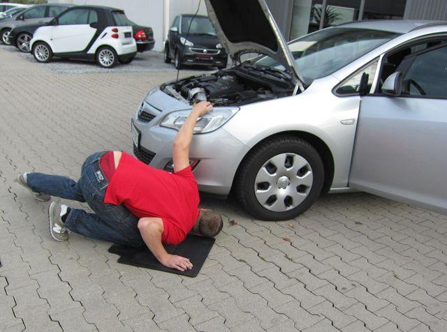 Осмотр машины перед покупкой