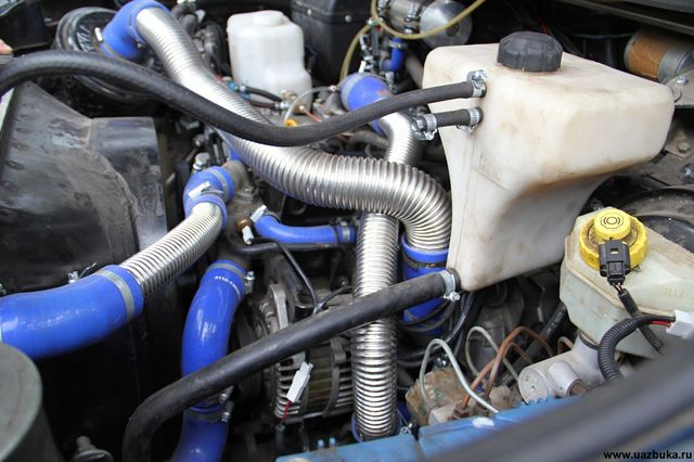 Система охлаждения ЗМЗ 409
