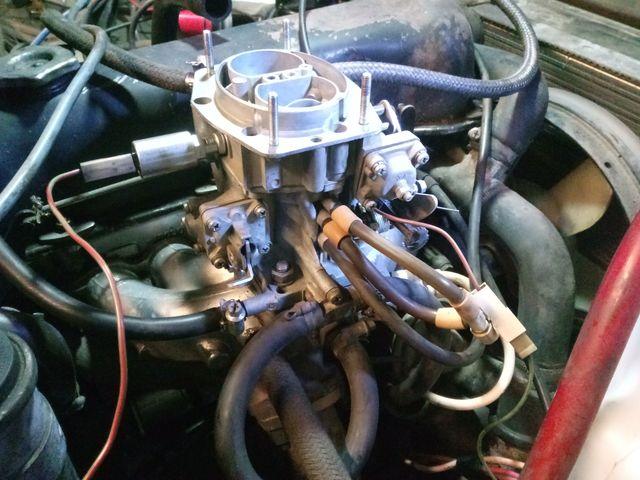 Карбюратор двигателя
