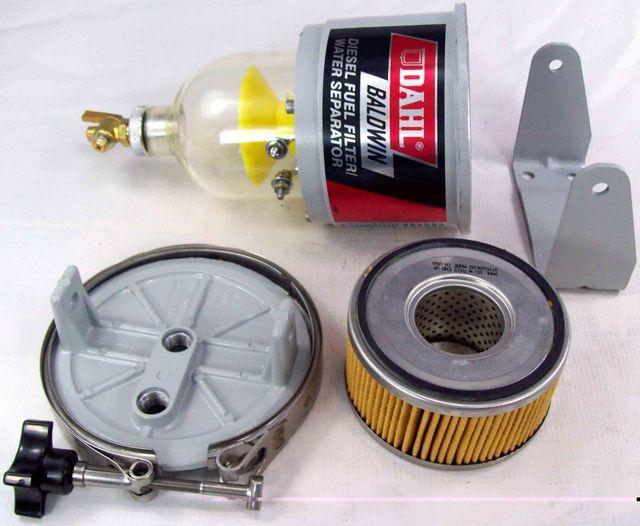 Топливный фильтр для дизеля