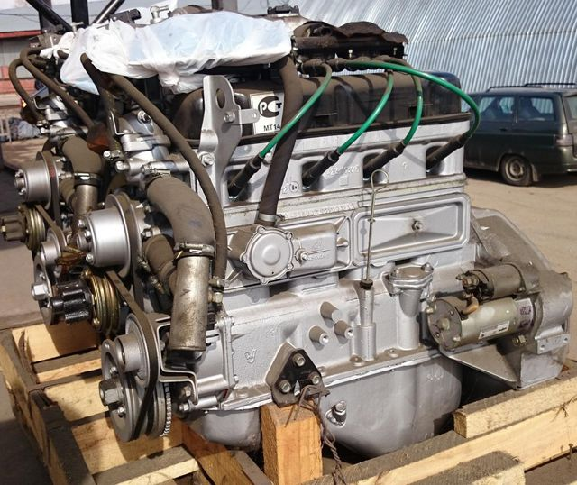 Двигатель УАЗ Хантер